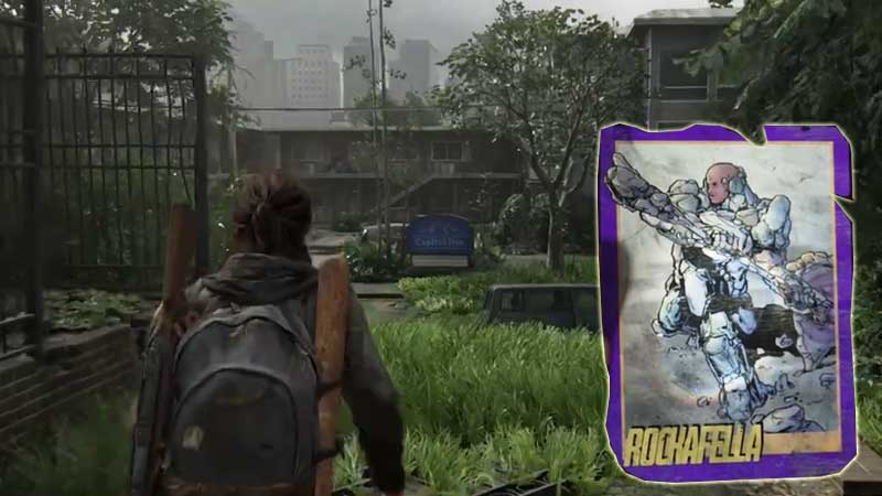 Last of Us Trading Card Location 16