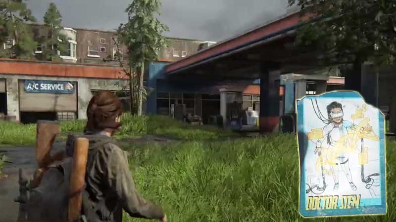 Last of Us Trading Card Location 17
