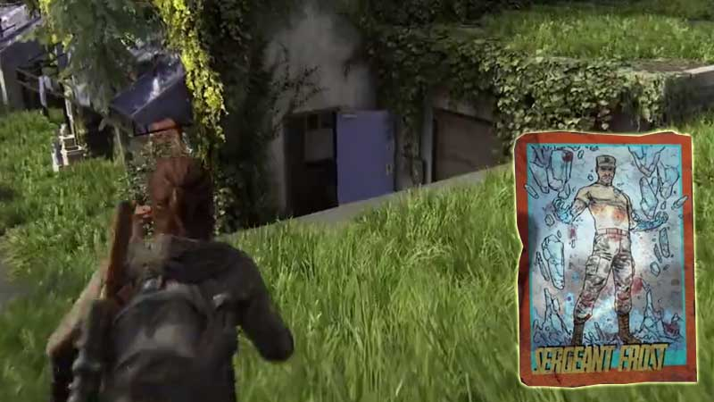 Last of Us Trading Card Location 18