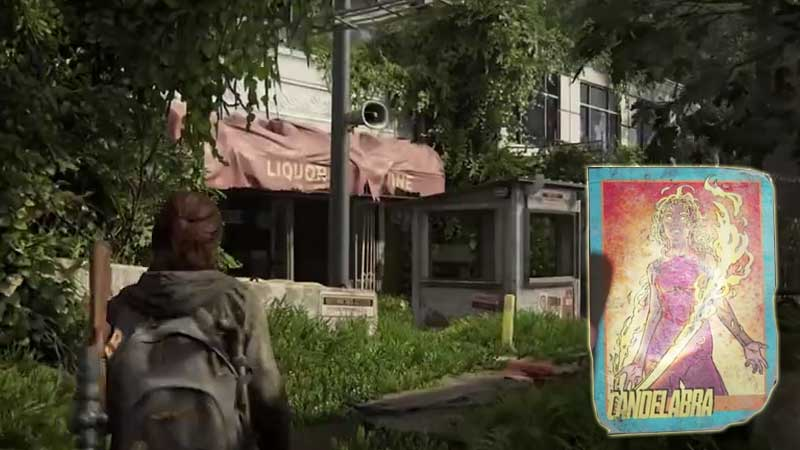 Last of Us Trading Card Location 19