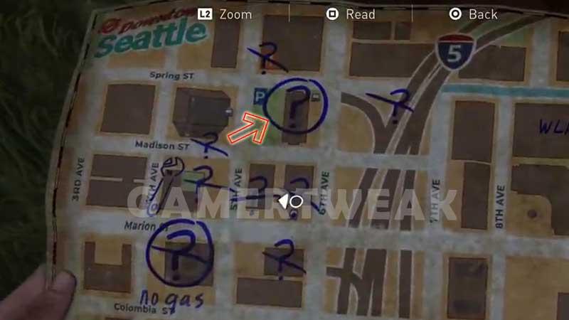 Last of Us 2 Gas Location