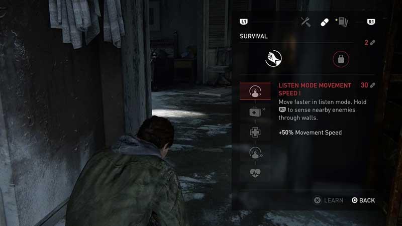 The Last of Us 2 Kill Tree