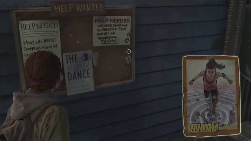 Last of Us Trading Card Location 2