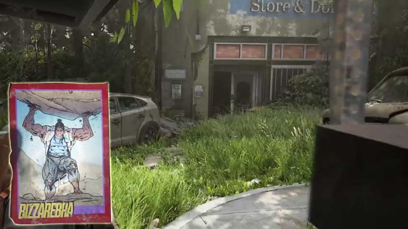 Last of Us Trading Card Location 20