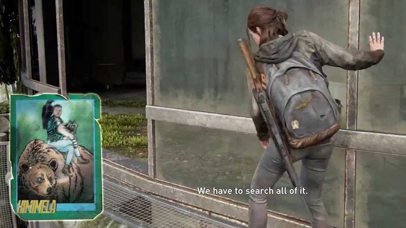 Last of Us Trading Card Location 21