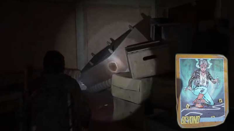 Last of Us Trading Card Location 26