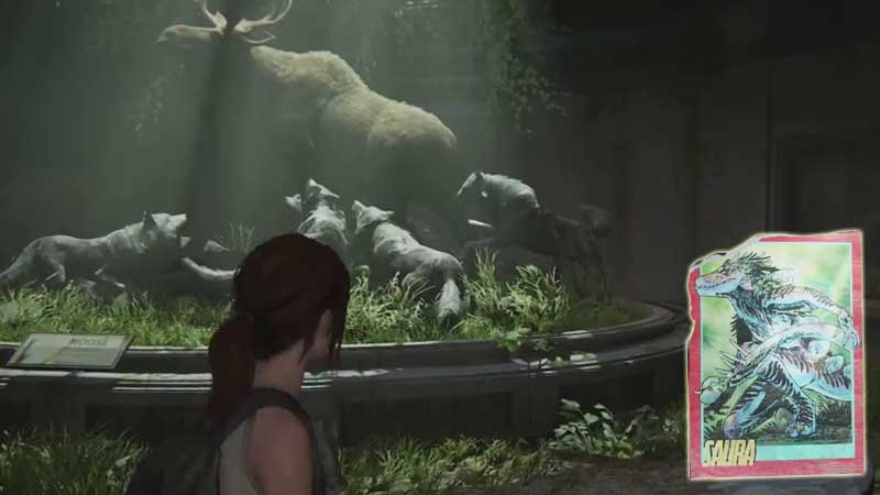 Last of Us Trading Card Location 28