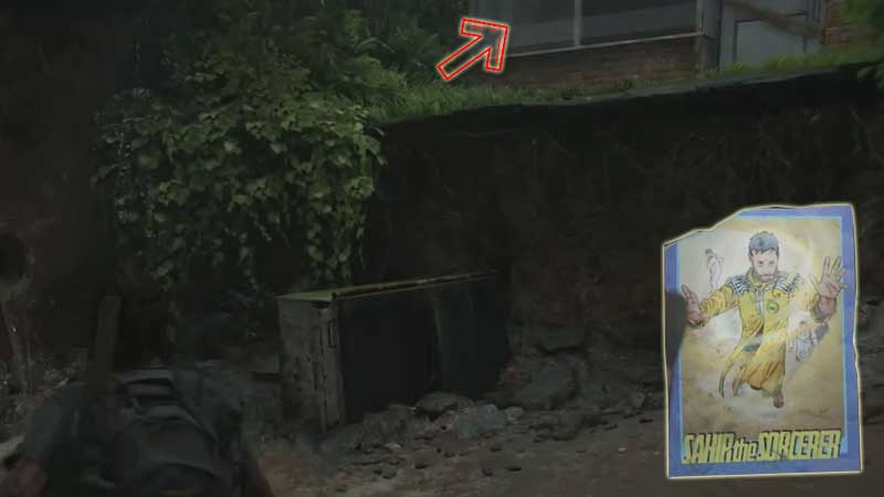 Last of Us Trading Card Location 30
