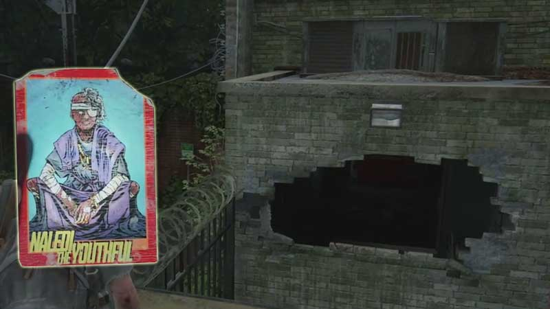 Last of Us Trading Card Location 31