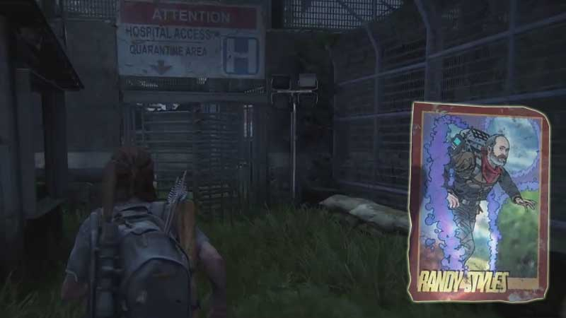Last of Us Trading Card Location 35