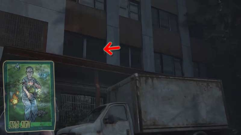 Last of Us Trading Card Location 37
