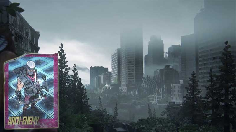 Last of Us Trading Card Location 38