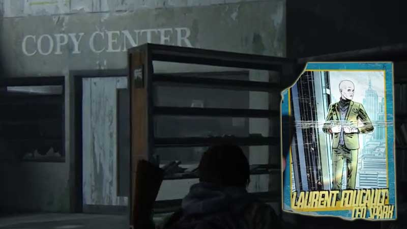 Last of Us Trading Card Location 4