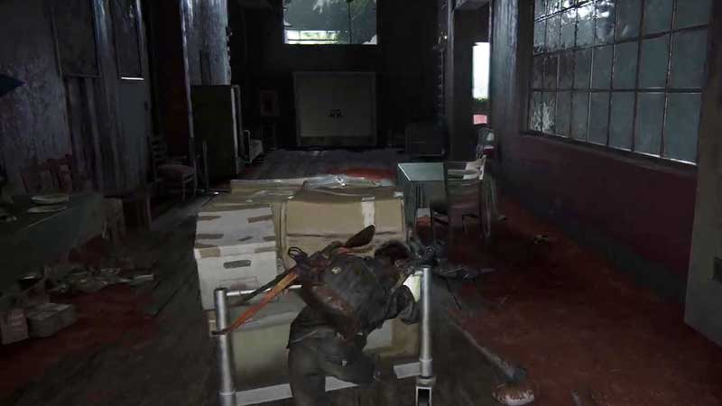 Last of Us Part 2 Boat Ride