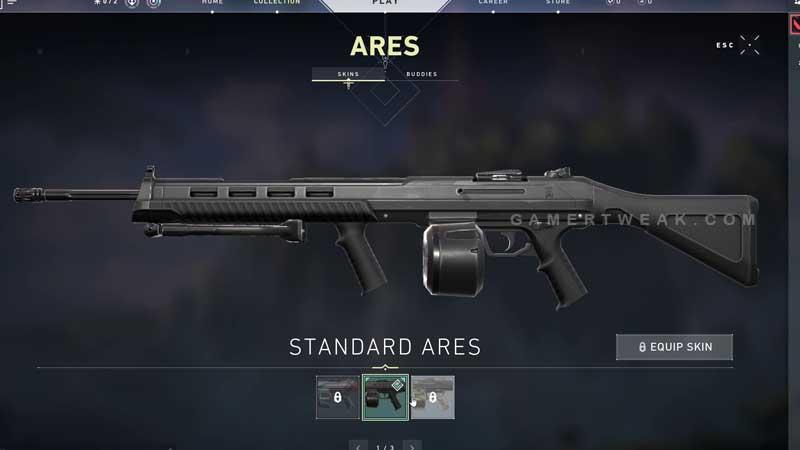 Valorant Ares Machine Gun
