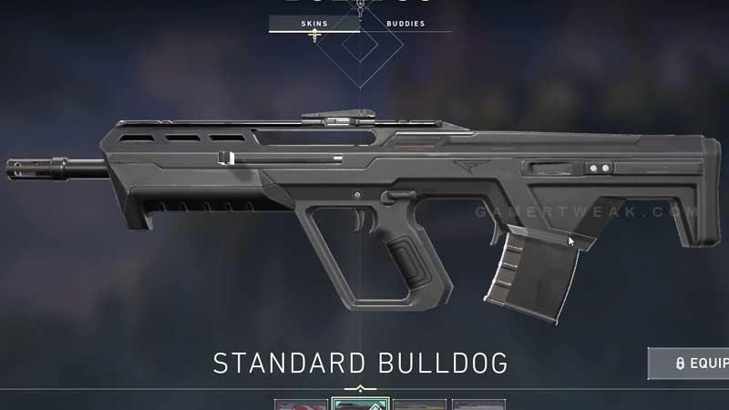 Valorant Builldog Rifle Guide