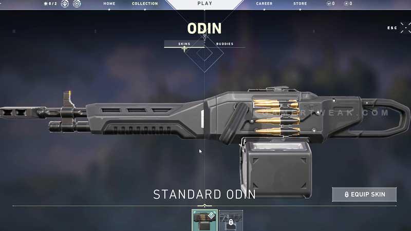Valorant Odin Machine Gun
