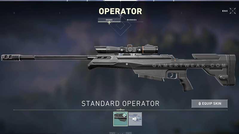 Valorant Operator Sniper Guide