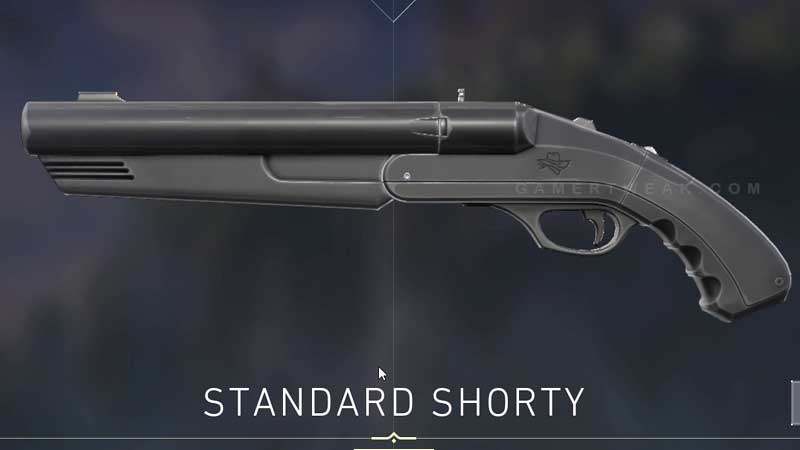 Valorant Standard Shorty Pistol Weapon