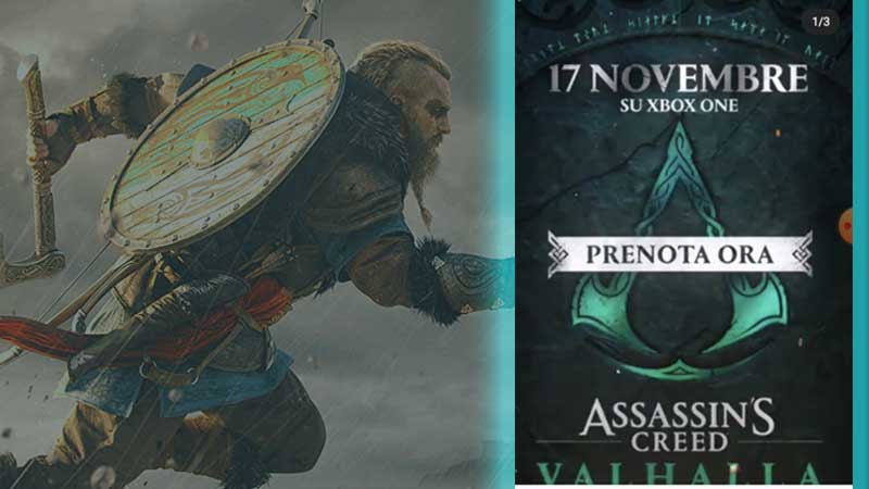 Assassin's Creed Valhalla Release Date November 17