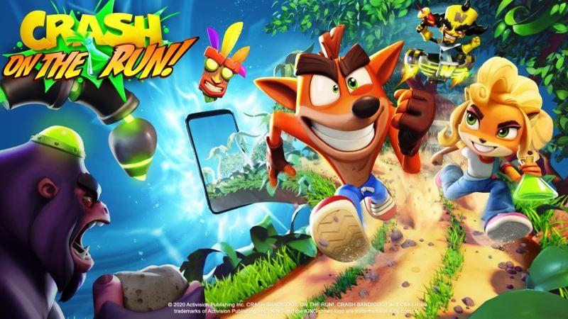 Crash Bandicoot: On the Run Official
