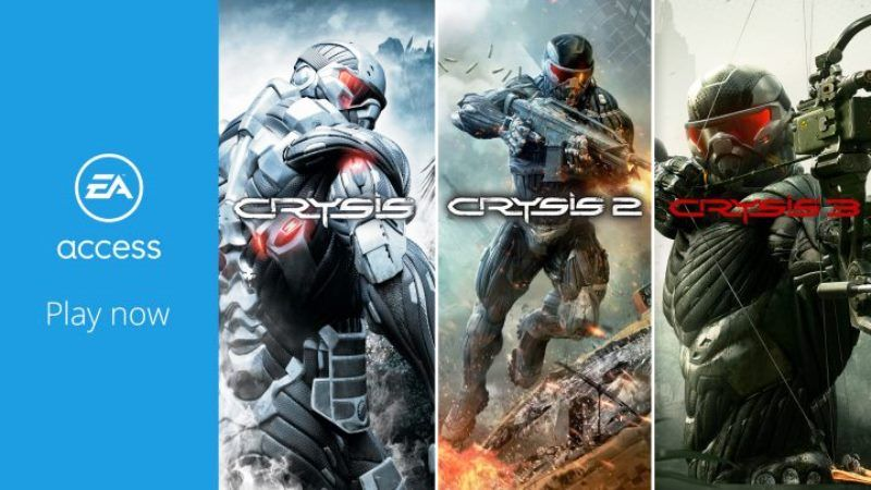 Crysis Trilogy Available Xbox One