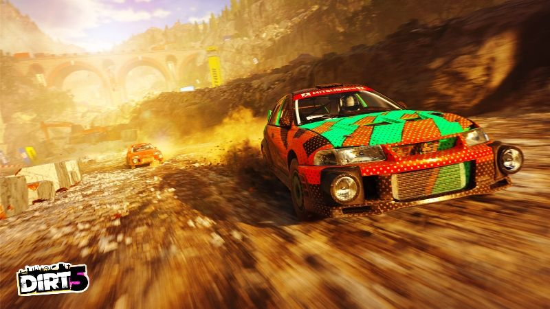 DiRT 5 Free Upgrade from PS4 to PlayStation 5