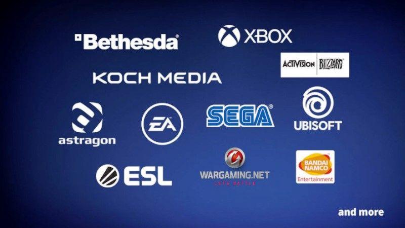 Gamescom 2020 Participants Bandai Namco, Microsoft