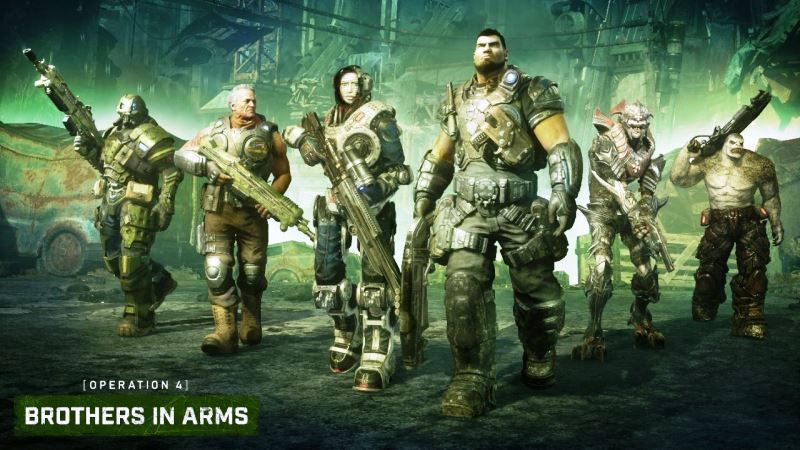 Gears 5: Operation 4 Brothers in Arms Available