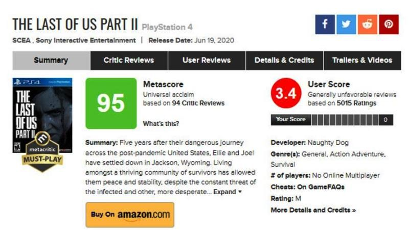 Metacritic Changes User Reviews System