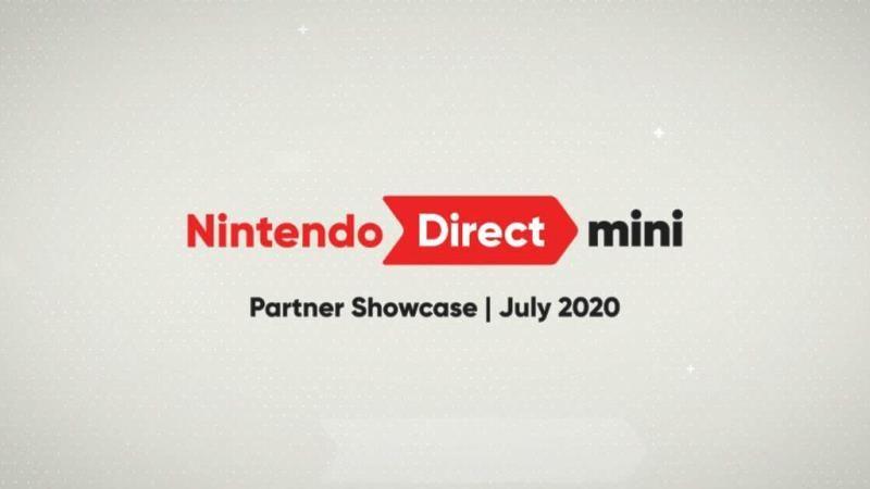 Nintendo Direct Mini Partner Showcase July 20
