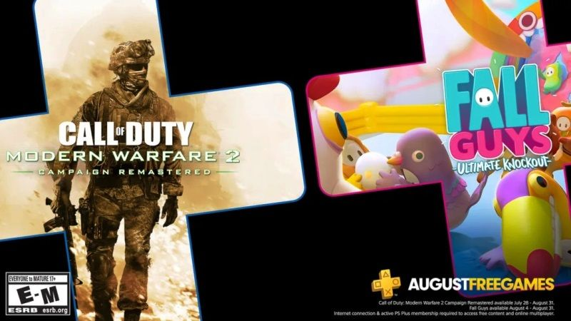 PS Plus August 2020 Games Include Modern Warfare 2 Campaign Remastered