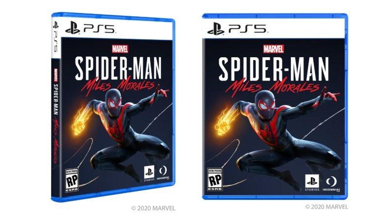 PS5 Box Art Marvel's Spider-Man Miles Morales