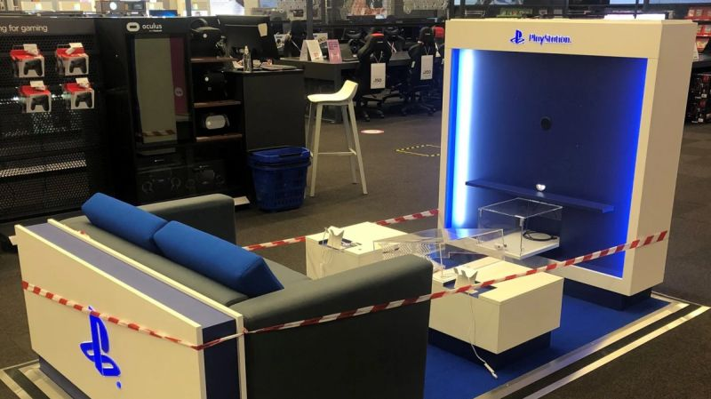 PS5 Demo Stations