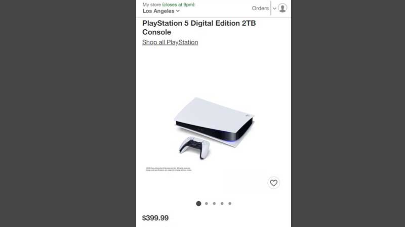 PS5 Digital Edition Price Leaked