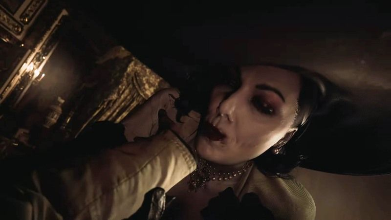 Resident Evil Village PS4 and Olga Antagonist