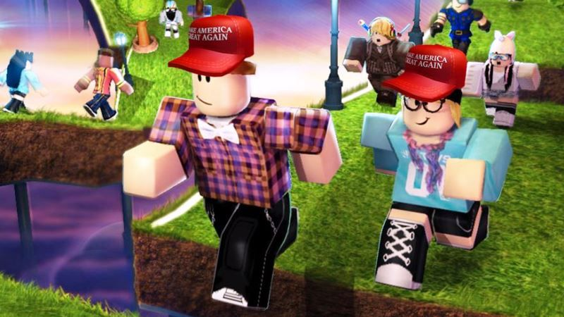 Is Roblox Being Hacked Right Now June 2020 Roblox Accounts Hacked Asking Your Parents To Vote For Trump This Year Gamer Tweak
