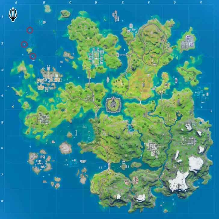 aquaman trident location