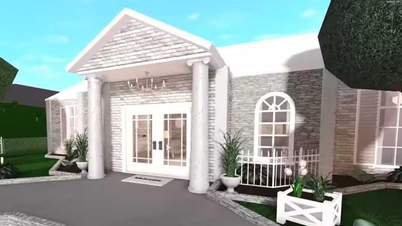 Bloxburg Colonial House