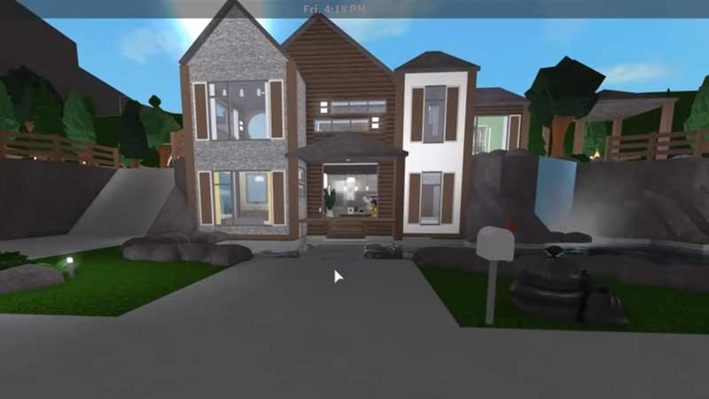 Bloxburg Hillside Mansion