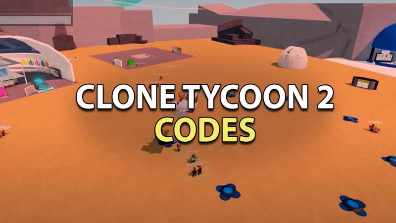 redeem clone tycoon 2 codes