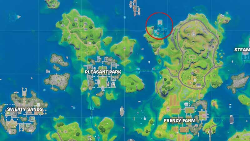 craggy cliffs location fortnite chapter 2 season 3