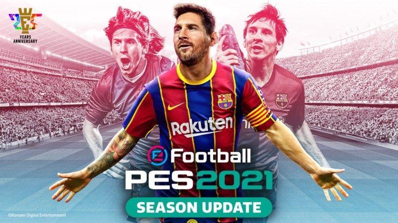 eFootball PES 2021 Season Update Release Date Announced