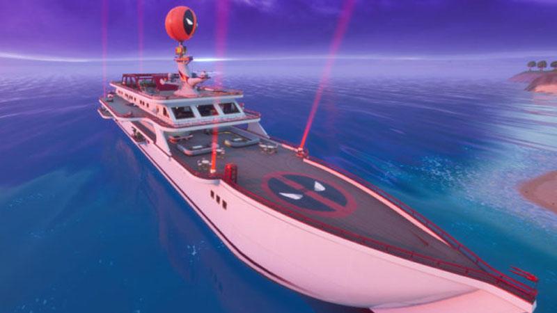 fortnite yacht location