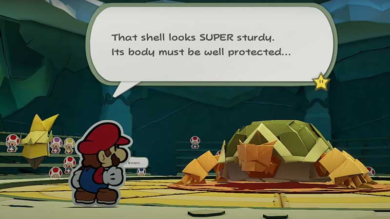 how-to-beat-earth-vellumental-boss-paper-mario-origami-king