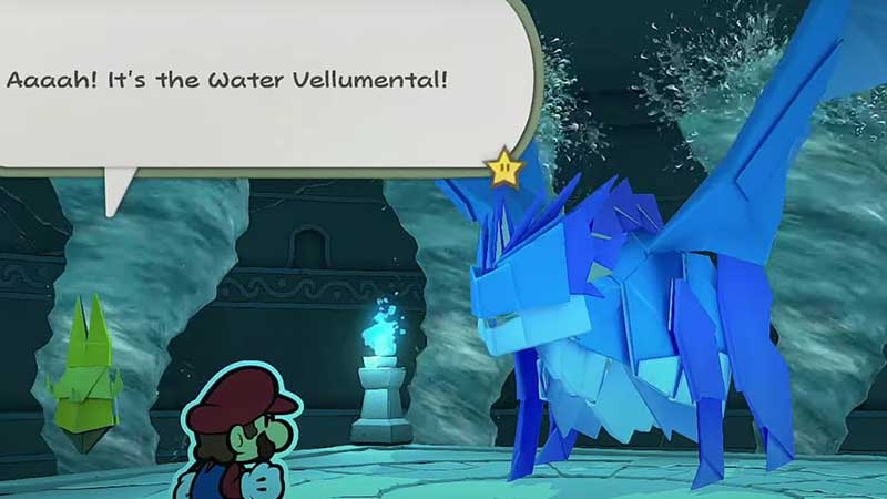 how-to-beat-water-vellumental-paper-mario-origami-king
