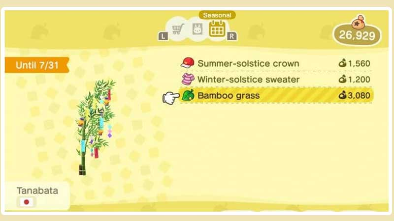 how-to-get-bamboo-tree-in-acnh