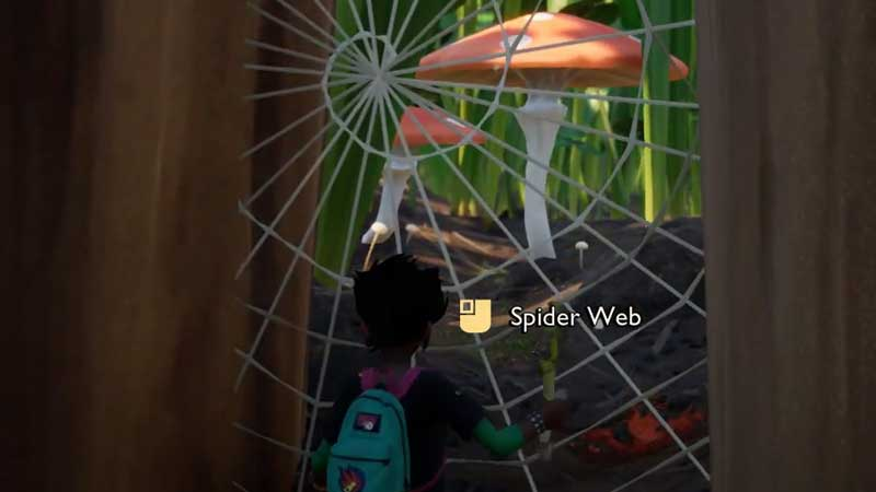 how-to-get-spider-silk-in-grounded