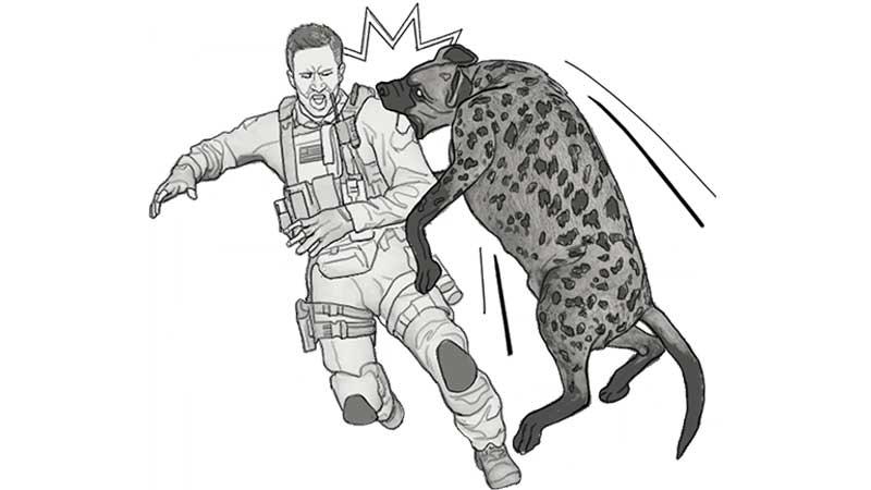 COD Modern Warfare Warzone Hyena