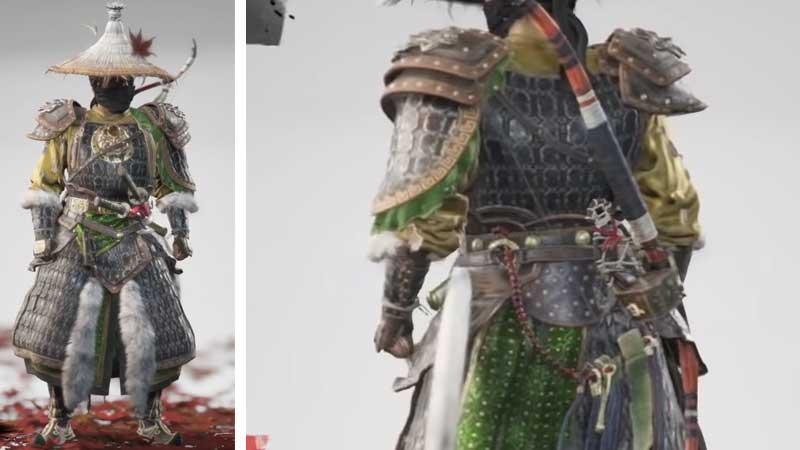 Ghost of Tsushima Mongol Commander's Armor